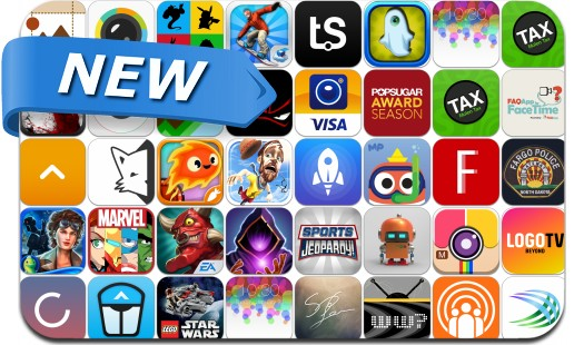 Newly Released iPhone & iPad Apps - January 31, 2014