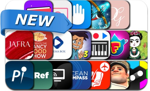 Newly Released iPhone & iPad Apps - January 14, 2019
