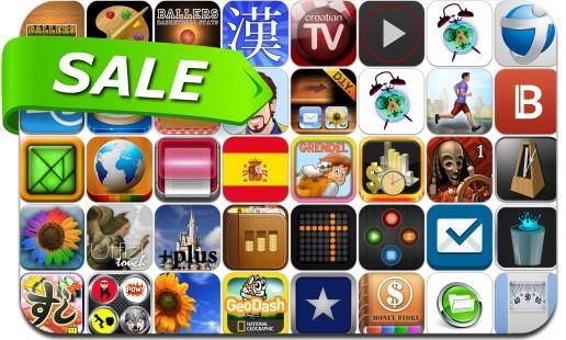 iPhone & iPad App Price Drops - July 16