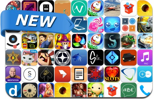 Newly Released iPhone & iPad Apps - August 15, 2014