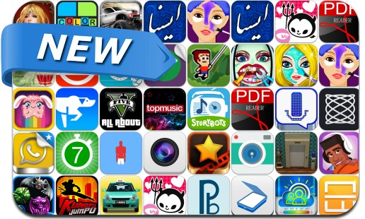Newly Released iPhone & iPad Apps - August 8