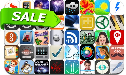 iPhone & iPad App Price Drops - January 15