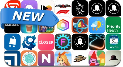 Newly Released iPhone & iPad Apps - May 11, 2019