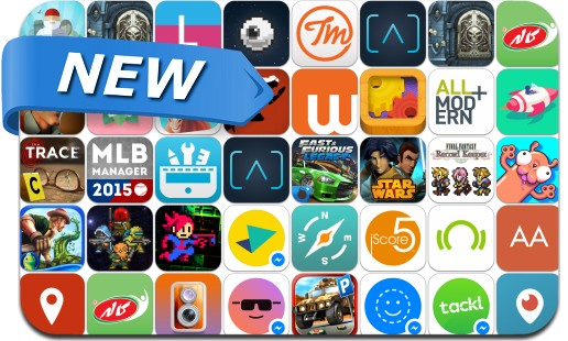 Newly Released iPhone & iPad Apps - March 27, 2015