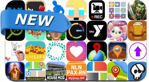 Newly Released iPhone & iPad Apps - August 12, 2016