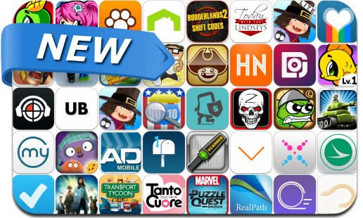 Newly Released iPhone & iPad Apps - October 4