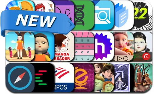 Newly Released iPhone & iPad Apps - October 5, 2021