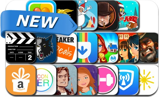 Newly Released iPhone & iPad Apps - December 13, 2014