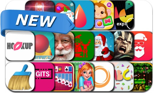 Newly Released iPhone & iPad Apps - December 8, 2016