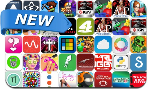 Newly Released iPhone & iPad Apps - August 29