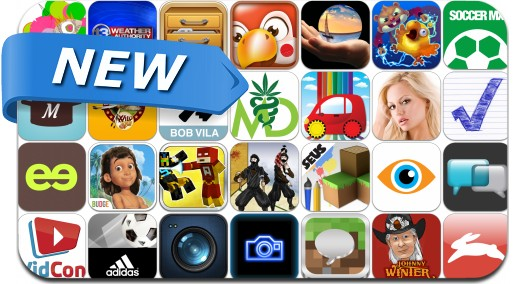 Newly Released iPhone & iPad Apps - July 27