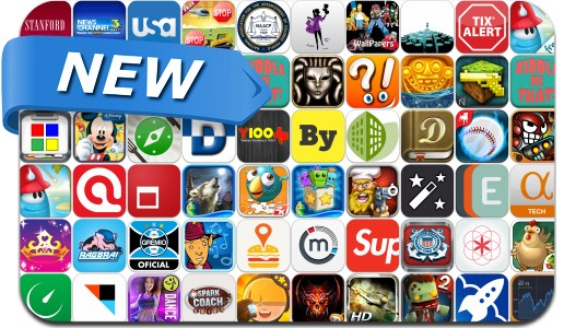 Newly Released iPhone & iPad Apps - July 12