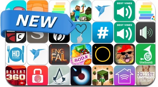 Newly Released iPhone & iPad Apps - November 12, 2014