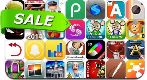 iPhone & iPad App Price Drops - September 5, 2014