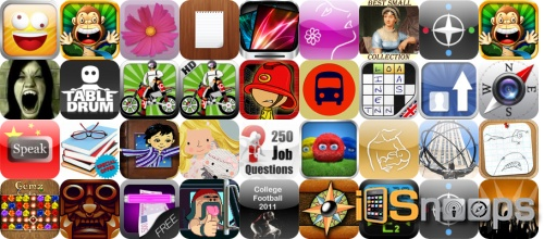iPhone and iPad Apps Gone Free - March 11 Roundup