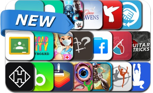 Newly Released iPhone & iPad Apps - January 15, 2015