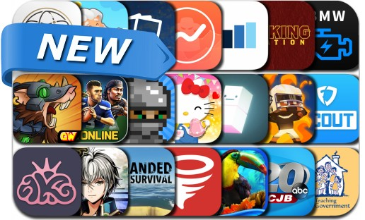 Newly Released iPhone & iPad Apps - September 8, 2017