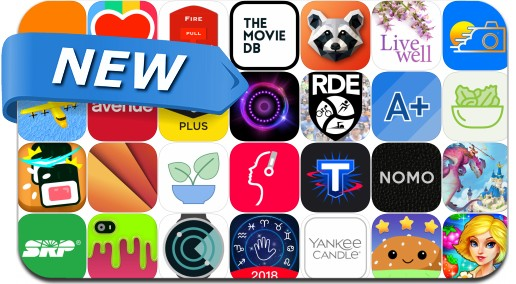 Newly Released iPhone & iPad Apps - April 30, 2018
