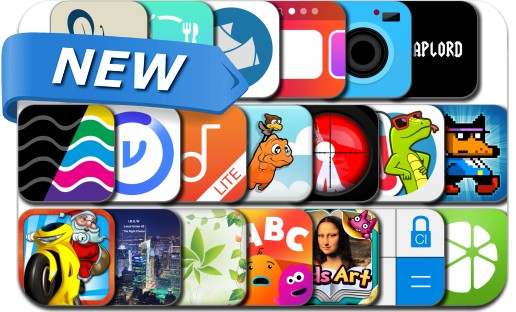 Newly Released iPhone & iPad Apps - January 25