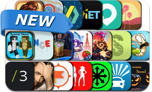 Newly Released iPhone & iPad Apps - October 6, 2016