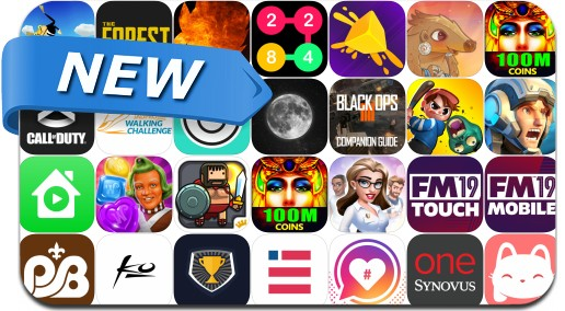 Newly Released iPhone & iPad Apps - November 3, 2018