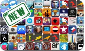 Newly Released iPhone and iPad Apps - October 31