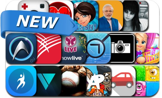 Newly Released iPhone & iPad Apps - July 25, 2015