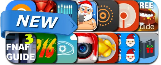 Newly Released iPhone & iPad Apps - December 6, 2015