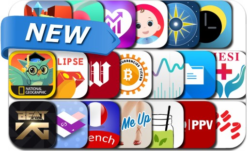 Newly Released iPhone & iPad Apps - August 19, 2017