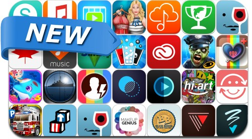 Newly Released iPhone & iPad Apps - June 19, 2014