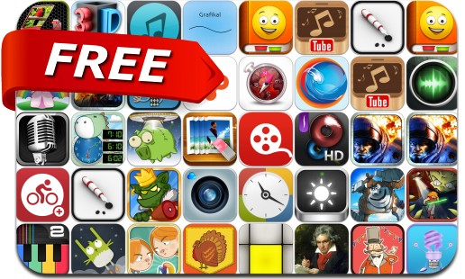 iPhone & iPad Apps Gone Free - November 2