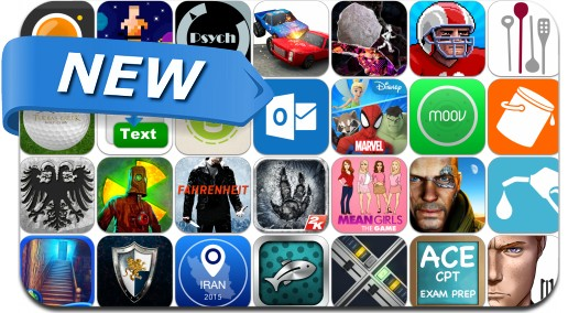 Newly Released iPhone & iPad Apps - January 30, 2015