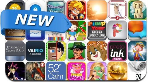 Newly Released iPhone & iPad Apps - April 14