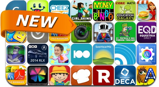 Newly Released iPhone & iPad Apps - March 16