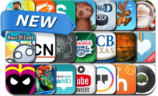 Newly Released iPhone & iPad Apps - December 10