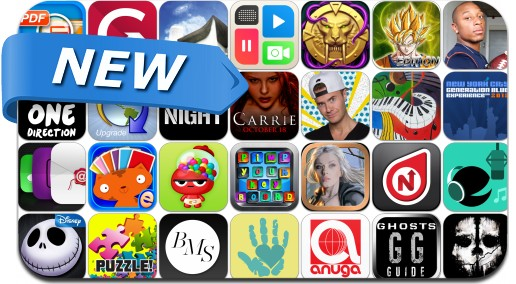 Newly Released iPhone & iPad Apps - October 6