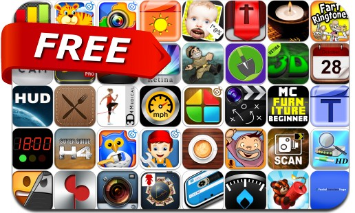 iPhone & iPad Apps Gone Free - April 7