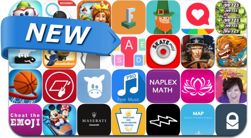 Newly Released iPhone & iPad Apps - March 18, 2016