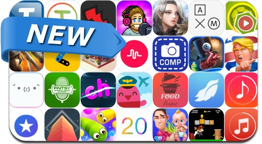 Newly Released iPhone & iPad Apps - September 29, 2016