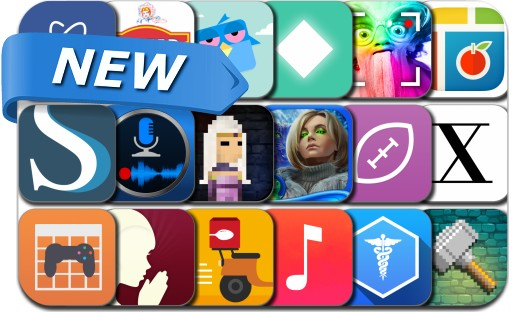 Newly Released iPhone & iPad Apps - May 12, 2015