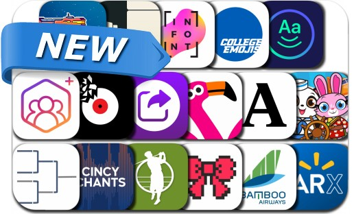 Newly Released iPhone & iPad Apps - March 23, 2019