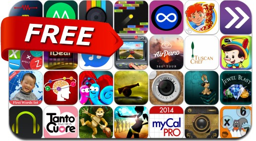 iPhone & iPad Apps Gone Free - April 25, 2014
