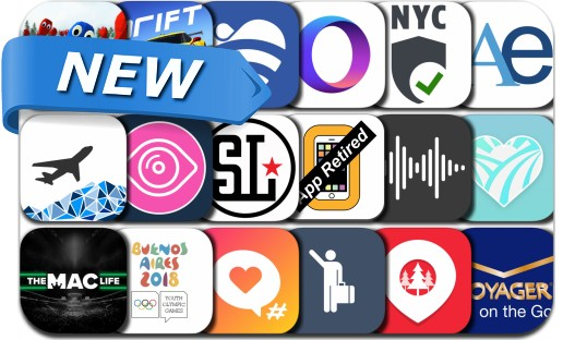 Newly Released iPhone & iPad Apps - October 3, 2018