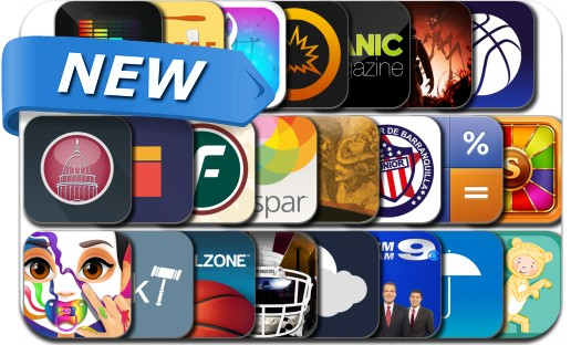 Newly Released iPhone & iPad Apps - January 30, 2014