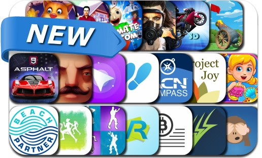 Newly Released iPhone & iPad Apps - July 27, 2018