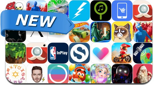 Newly Released iPhone & iPad Apps - December 23, 2016