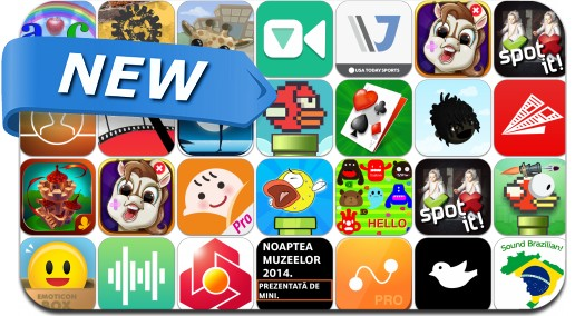 Newly Released iPhone & iPad Apps - May 18, 2014