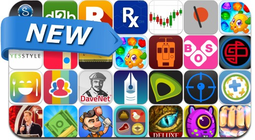 Newly Released iPhone & iPad Apps - May 31, 2014