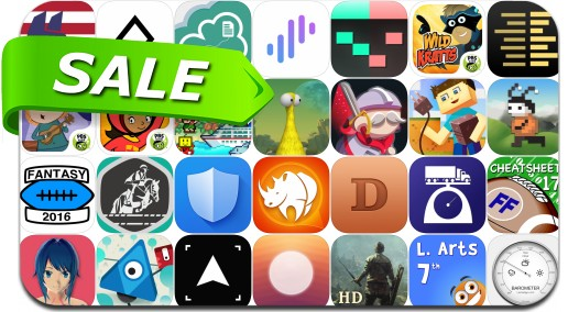 iPhone & iPad App Price Drops - August 4, 2017