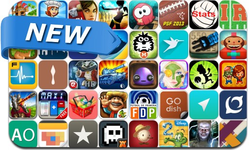 Newly Released iPhone & iPad Apps - September 13
